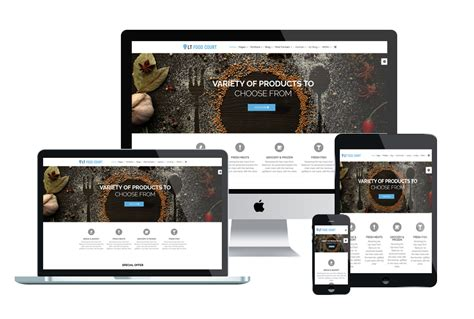 best joomla free template top best free restaurant website templates for joomla 2018