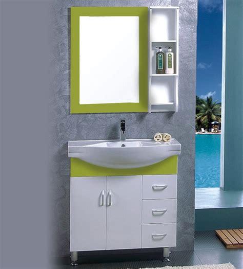 green bathroom cabinet green color pvc bathroom vanity cabinet for wholesale