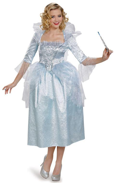 cinderella film costumes cinderella movie fairy godmother deluxe adult costume