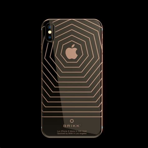 lux iphone  mono  rose gold