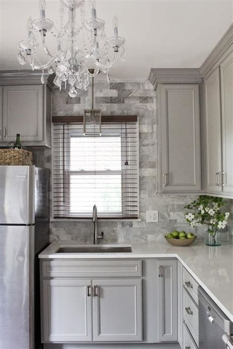 gray shaker kitchen cabinets with engineered white quartz gray kitchen cabinets with quartz countertops quicua com