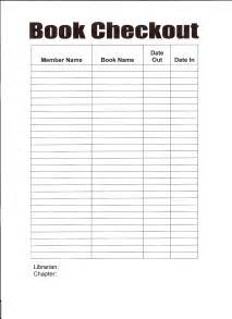Library Checkout Template by Best Photos Of Library Book Check Out Sheet Book Check