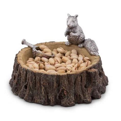 Teether Squirell With Acorn arthur court standing squirrel nut bowl w acorn scoop