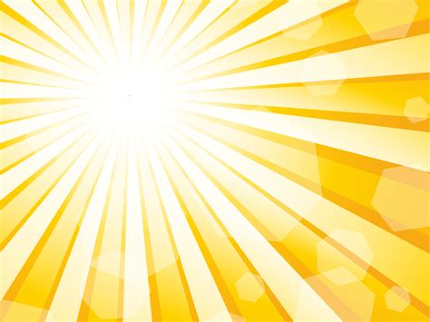 sun burst effect powerpoint template ppt backgrounds