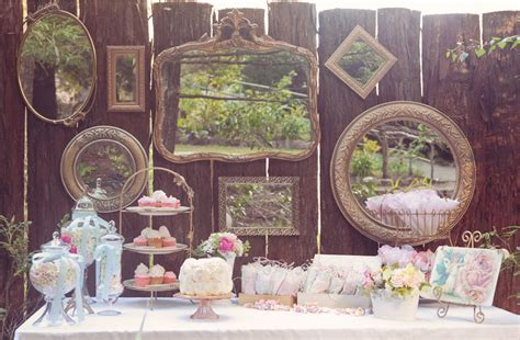 party themes vintage vintage inspired tea party sweets table guest feature