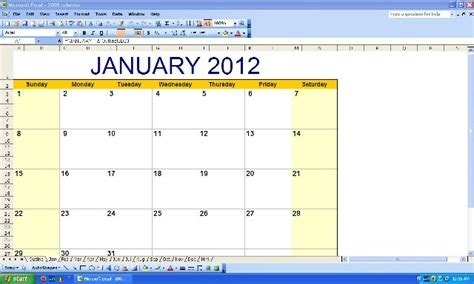 calendar  notes option learn computer