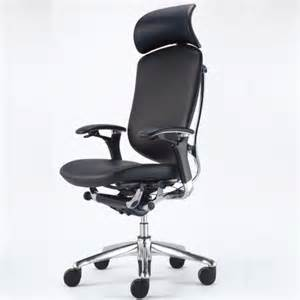 okamura contessa leather executive chair