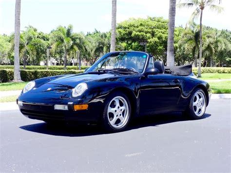 1995 porsche 911 for sale 1995 porsche 911 2 for sale delray florida