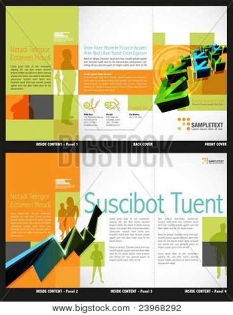 tri fold brochure design layout download tri fold brochure layout design vector photo bigstock