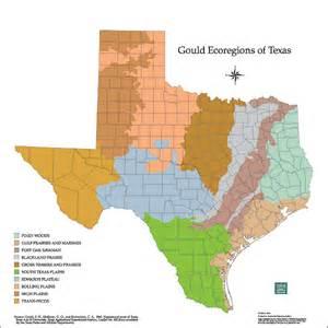 ecoregions map tpwd maps