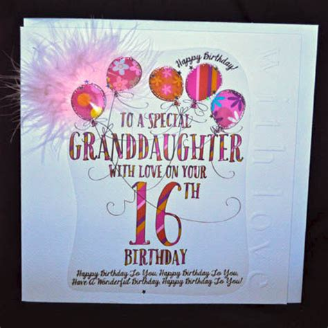 Granddaughter 16th Birthday Cards Birthday Greetings On Pinterest Happy Birthday Birthday