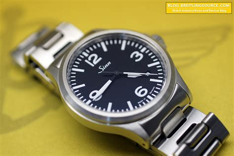The Breitling Watch Blog » Sinn 556 Automatic Watch Review