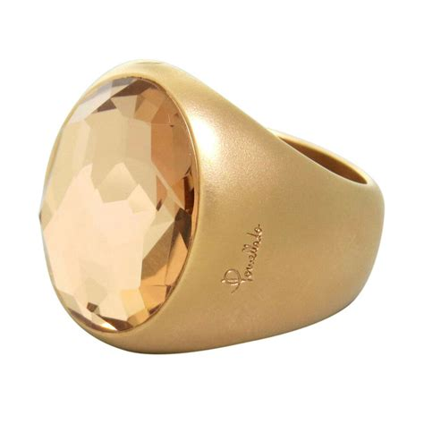 pomellato ebay new pomellato narciso 18k gold rock ring 4100 ebay
