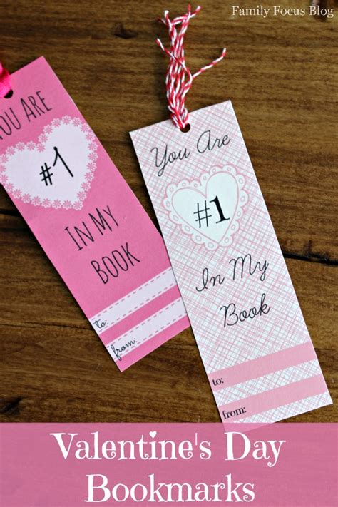 valentines bookmarks free printable s day bookmarks family focus
