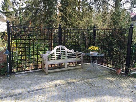 Garten Paravent Metall