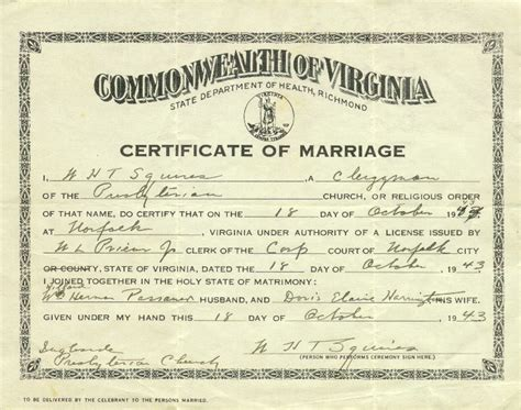 Cincinnati Ohio Marriage Records Marriage