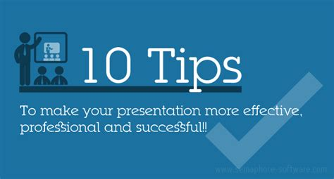 Tips To Be Professional 10 Tips To Make Your Presentation More Effective