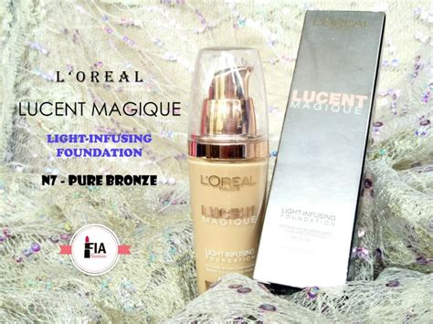 Harga Loreal Liquid Foundation Lucent Magique review l oreal lucent magique foundation n7