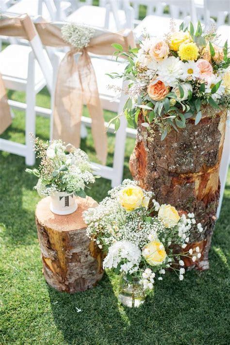 17 Best ideas about Tree Stump Centerpiece on Pinterest