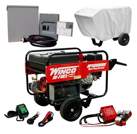 winco tri fuel generator 9000 watt b s transfer switch kit