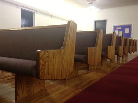 Church Pews and Hardwood Floors at Jacksonville