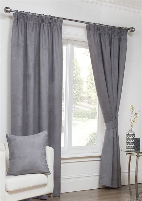 faux suede curtains faux suede pencil pleat grey curtains com