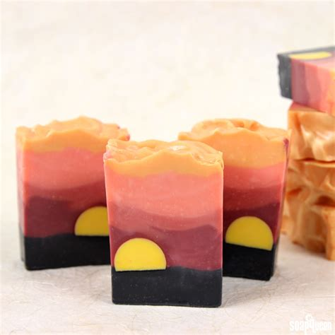Sahara Sunset Cold Process Soap Tutorial   Soap Queen