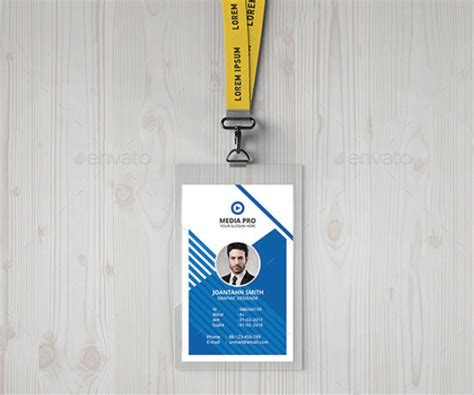 Professional Id Card Templates by 38 Id Card Templates Free Word Pdf Excel Png Psd Designs