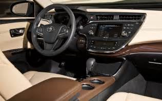 toyota avalon 2013 interior