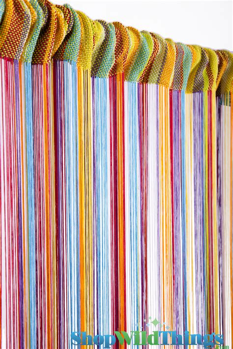 rainbow curtains rainbow curtains rainbow string curtains colorful