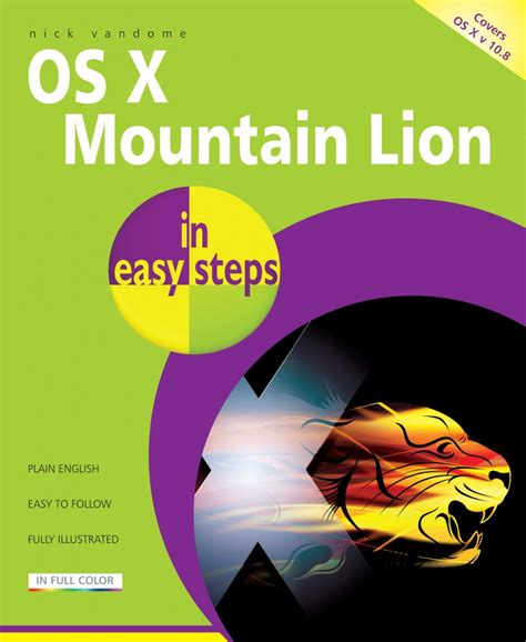macos high in easy steps covers version 10 13 books in easy steps os x mountain in easy steps in easy steps