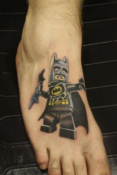 tattoo 3d lego lego batman tattoo tattoomagz