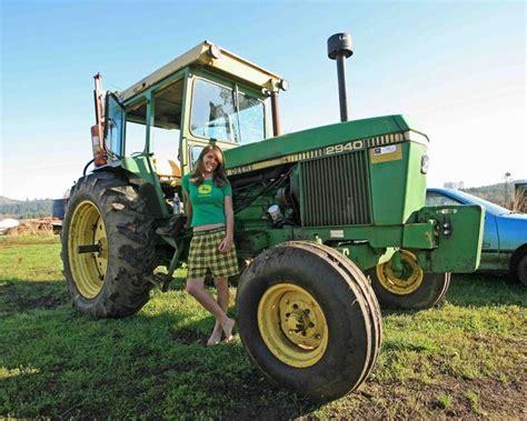 girls on john deere tractors 99 best girls with tractors images on pinterest