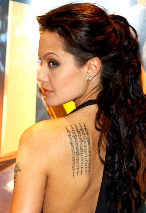 tattoo like angelina jolie angelina jolie tattoos
