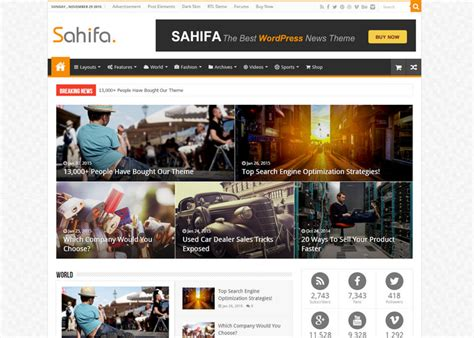 sahifa theme sle data 20 best wordpress affiliate marketing themes in 2016