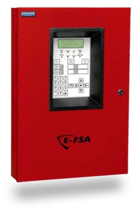 edwards signaling e fsa64 64 point analog/addressable