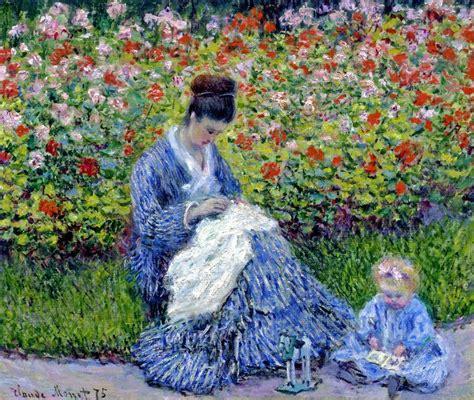 claude monet donne in giardino impressionismo libert 224 e arte