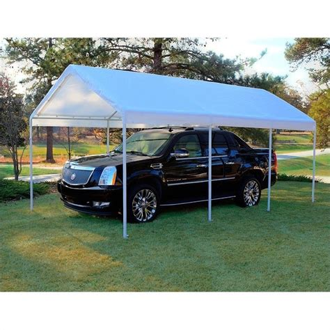 Cing Awnings And Canopies by King Canopy 10 X 20 Hercules Canopy In White Hc1020pc