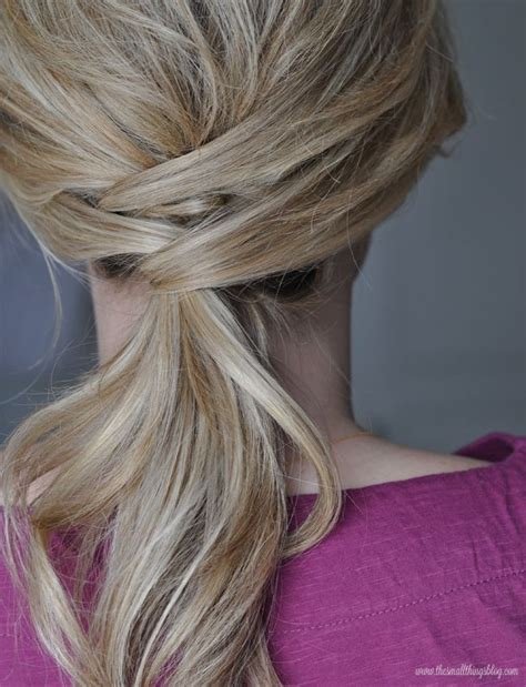 blogger hair tutorial the small things blog not just a ponytail hair tutorial