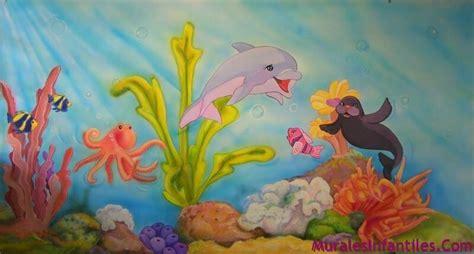 decoracion mural marinos murales infantiles decoraciones