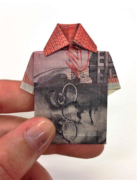 Money Shirt Origami - 17 best images about origami cuties on dollar