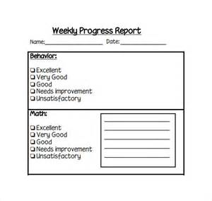 weekly progress report template weekly report template 12 free documents in pdf