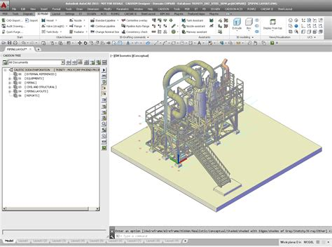 layout based software plant equipment pipeline planning software