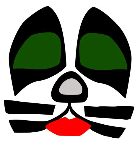 file kiss cat face svg wikimedia commons