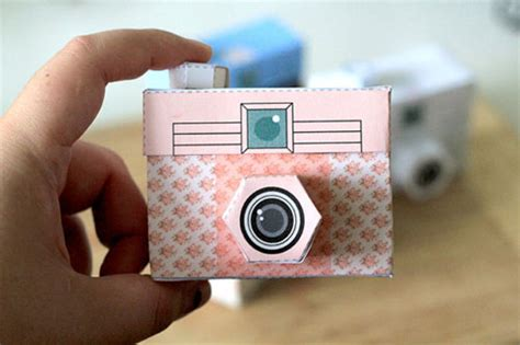 printable paper camera new printable paper camera poppytalk