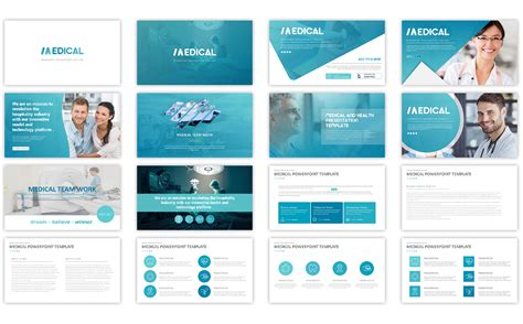 powerpoint templates for web pages medical powerpoint template 66958