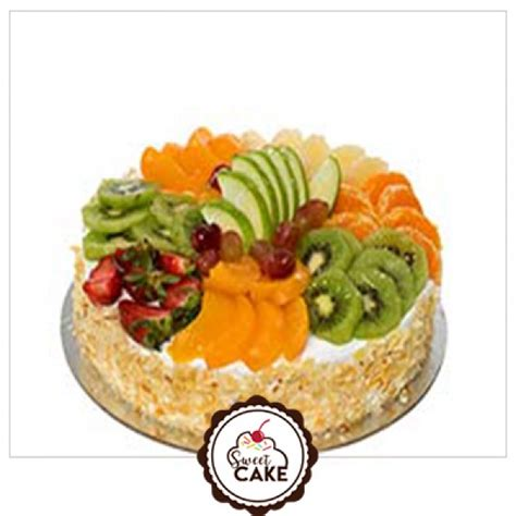 fresh fruit birthday cake  delivery  noidadelhi