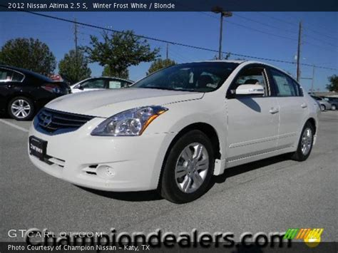 nissan altima white 2012 winter white 2012 nissan altima 2 5 s