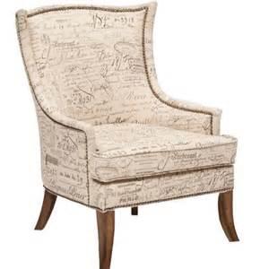 Script Armchair sanctuary accent chair