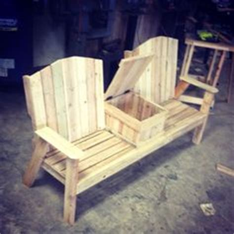 outdoor bench with cooler pallet wood bench with cooler ravenwood furniture and fixture pinterest coolers